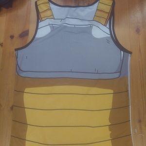 Dragon Ball Z Vegeta Armor Tanktop